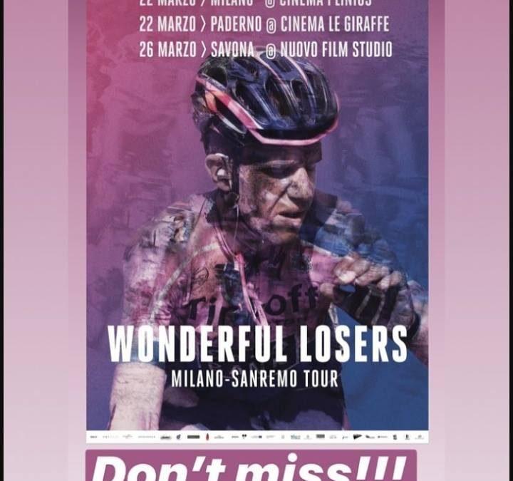A Sanremo Wonderful Losers, il pluripremiato film sui gregari del ciclismo